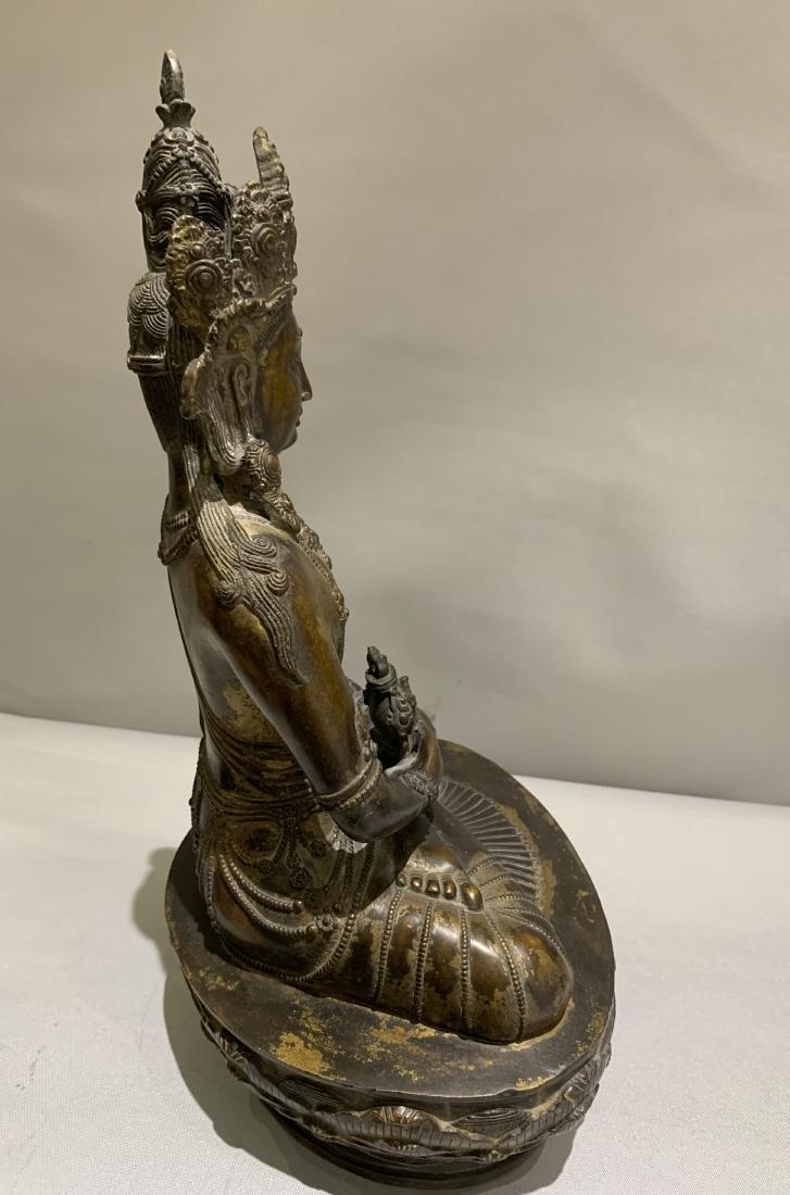 Bronze Figure Of Buddha - 8