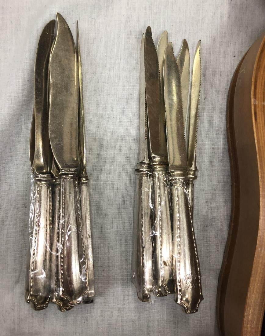 88 PIECES TIFFANY & CO. STERLING SILVER SERVING SET - 3
