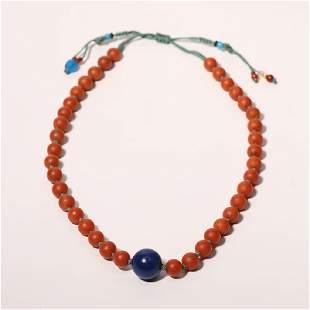 Nanhong Agate Necklace