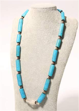 Tianhe Stone Beads String Necklace