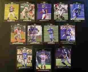 2007 Topps Chrome NY Giants Compete Set