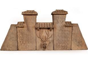 Rare Western Han Dynasty Five-Piece Ceramic, TL Tested