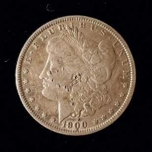 Morgan Silver Dollar, 1900