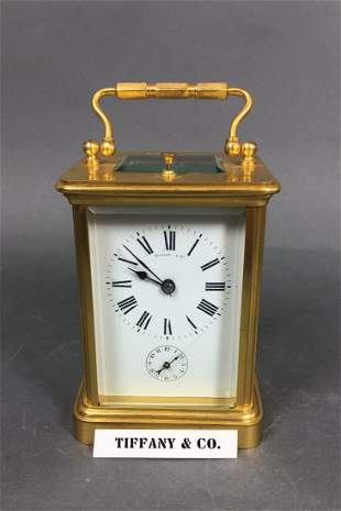 Tiffany & co. Carriage Clock