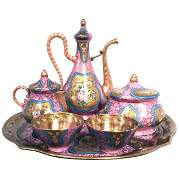 19th C Turkish Market Coffee set