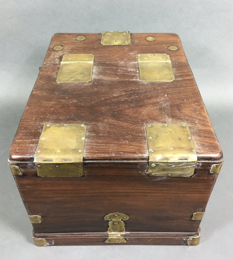 A Chinese Antique Rosewood Box - 3
