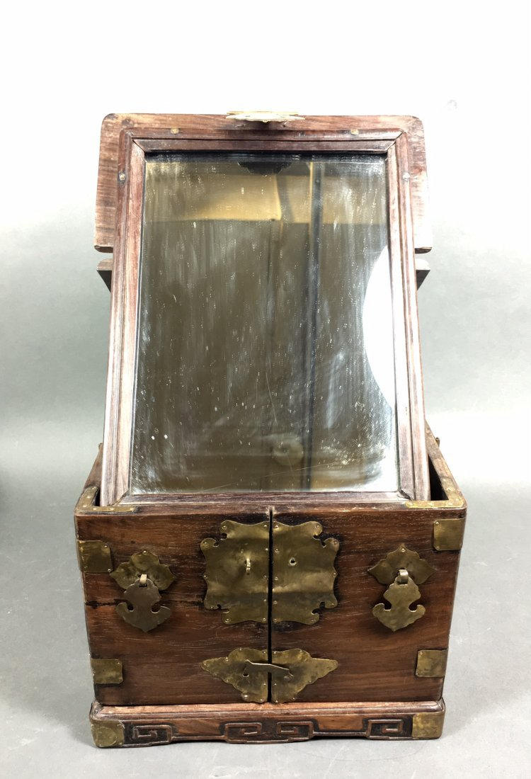 A Chinese Antique Rosewood Box - 4