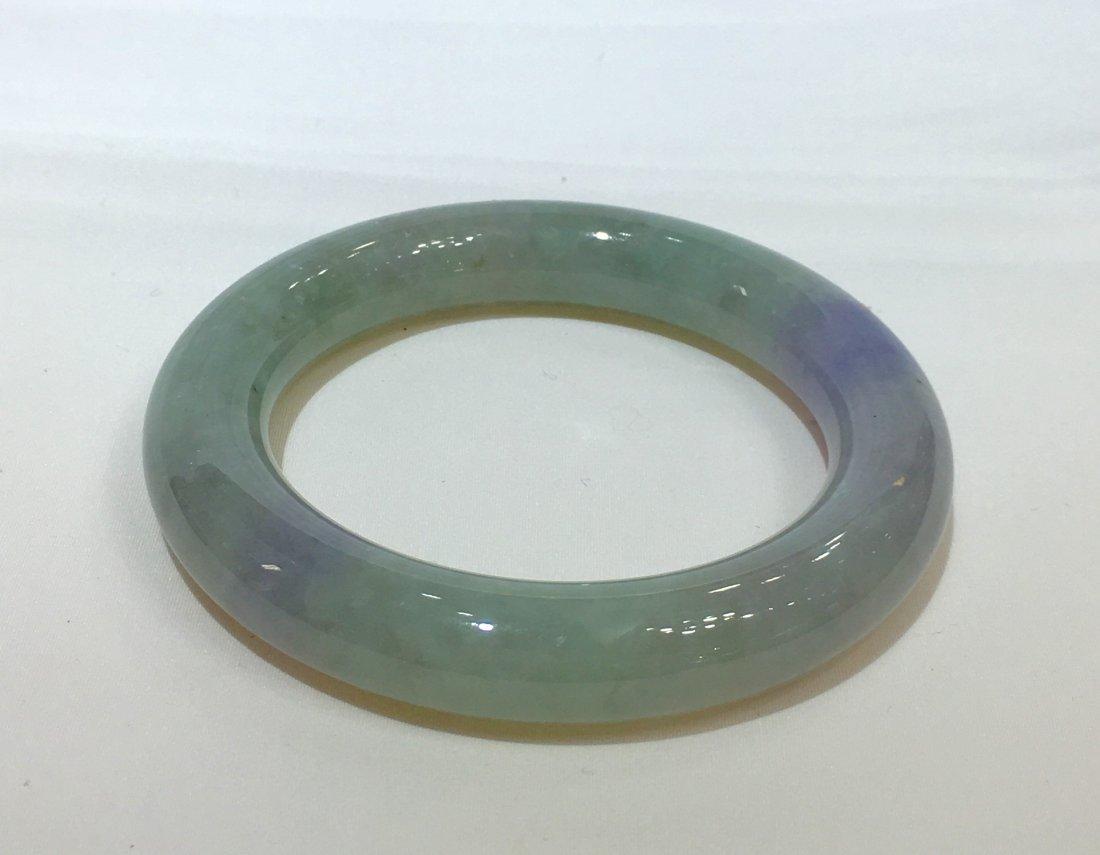 Natural Untreated Jadeite Jade Bangle