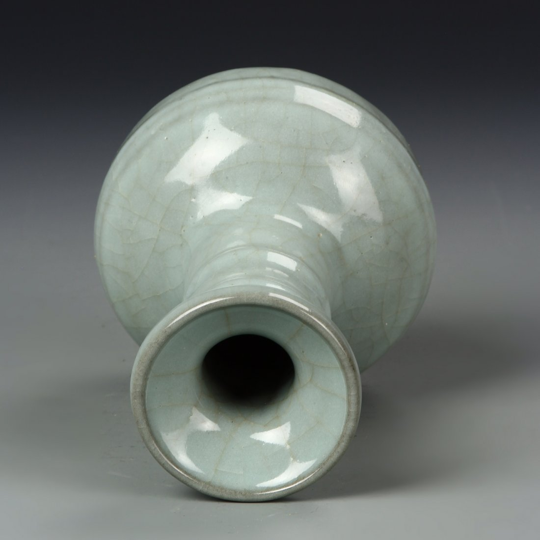 Chinese Lung Quan Yao Vase - 5