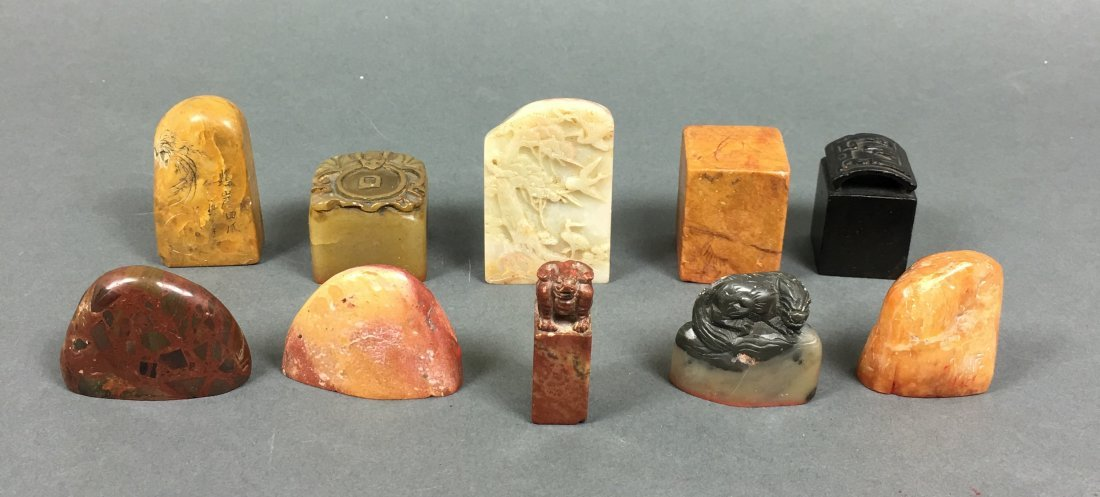 A Group Of Chinese Seals - 2