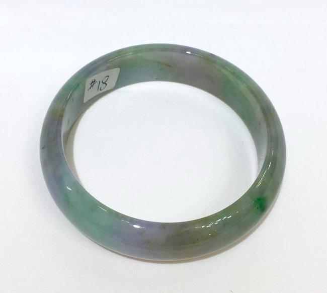 Natural Untreated Jadeite Jade Bangle - 3