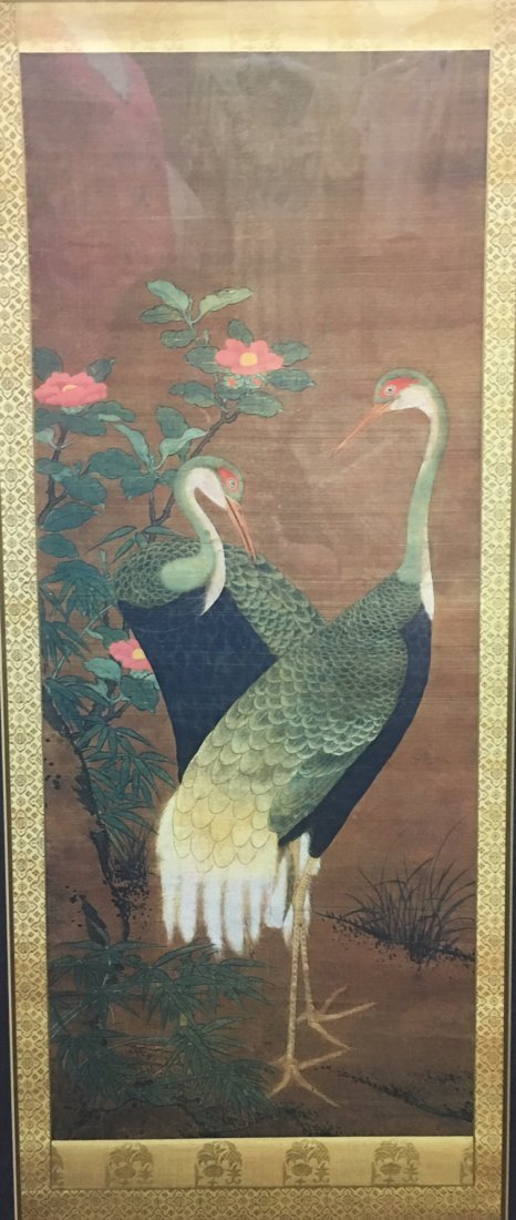 A Chinese Painting With Frame - 2