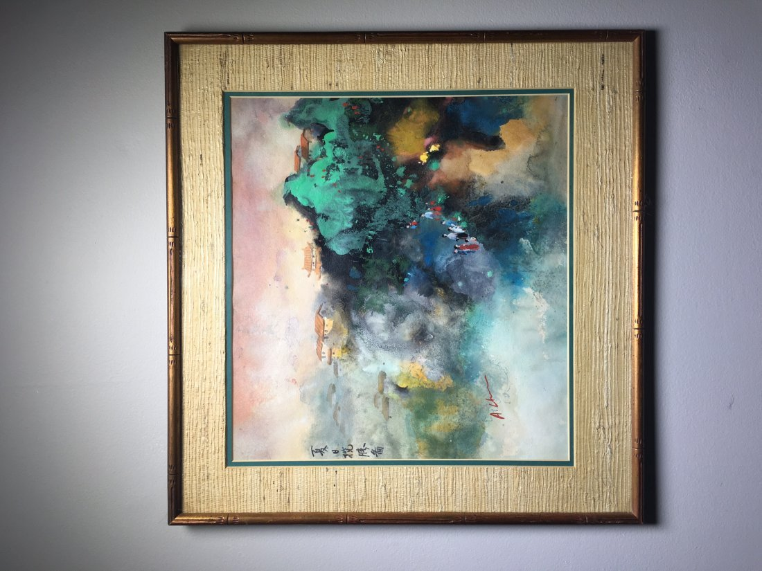 A Painting With Frame