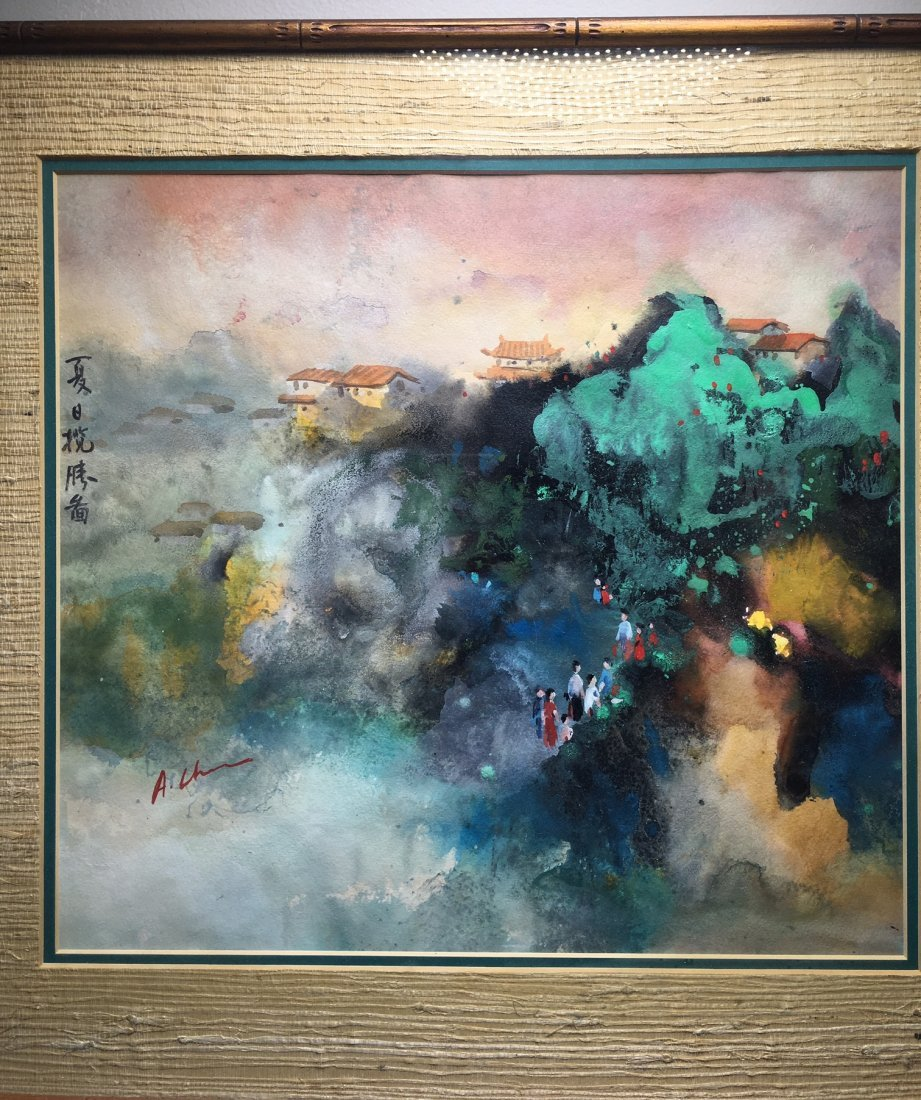 A Painting With Frame - 2