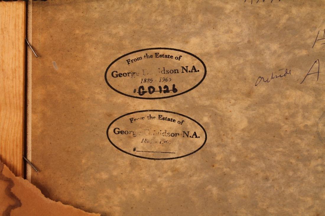 George Davidson 1889-1965 O/C Red Barn #126 - 5