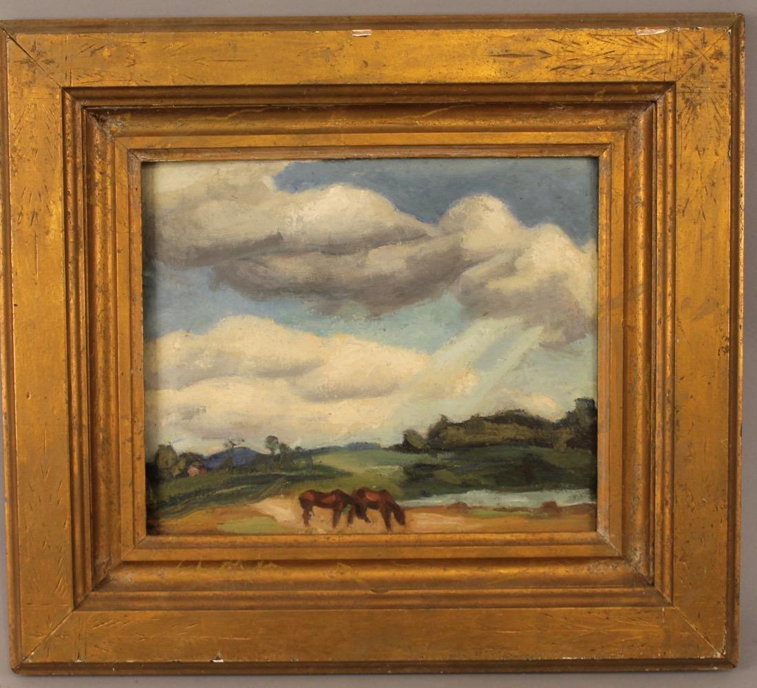 George Davidson 1889-65 O/C Horses Pasture #133