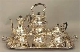 Sterling Silver Tea Set by William Adams Ltd.