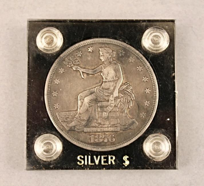 1876 Trade Dollar