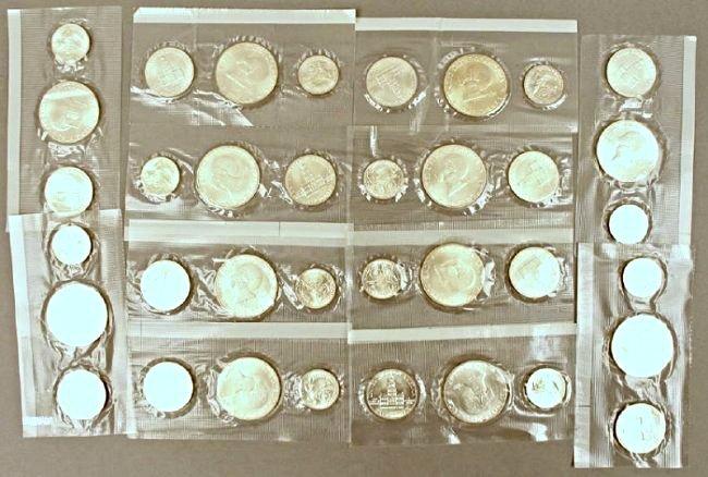 12 Eisenhower Silver Sets - 4