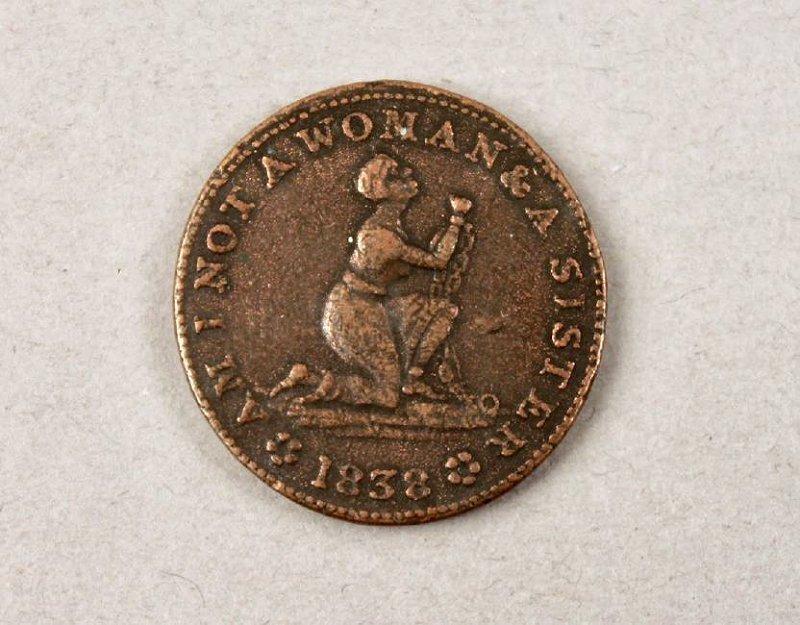 Anti Slavery Coin