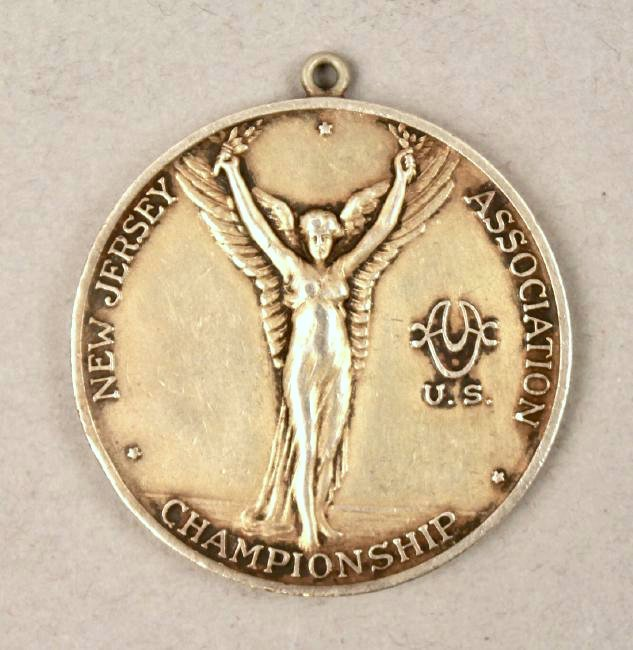 1935 Sterling Diving Medal