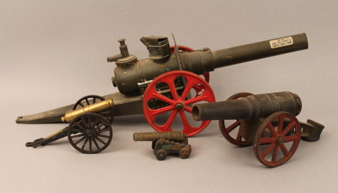 4 Toy Canons