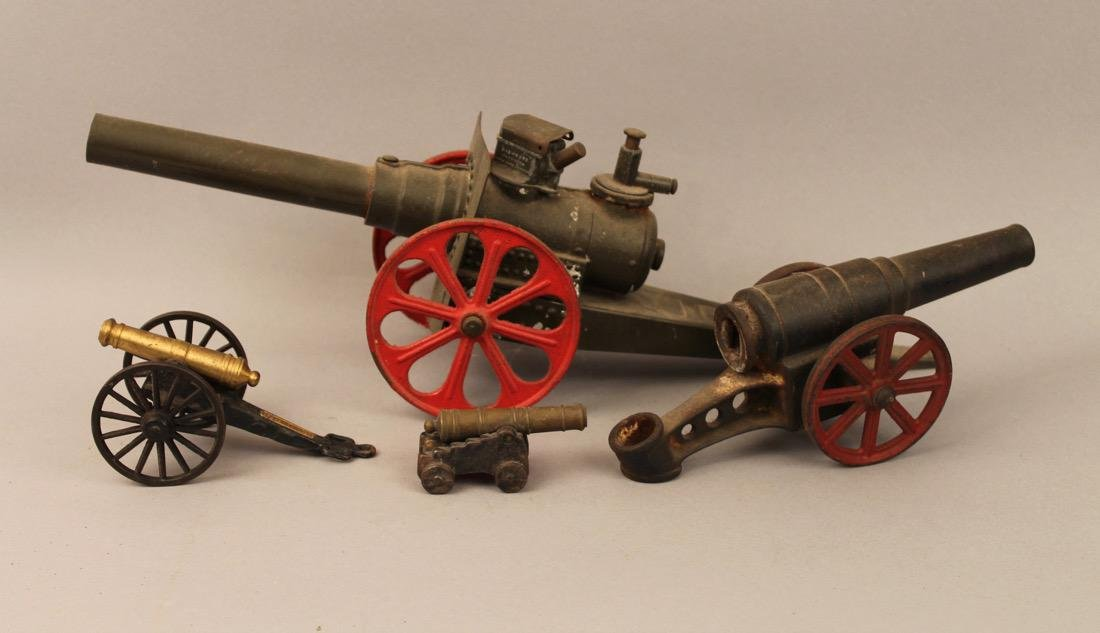 4 Toy Canons - 2