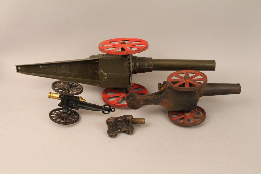 4 Toy Canons - 5