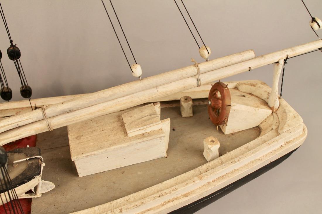 Wooden Boat Model 2 Masted Schooner - 2