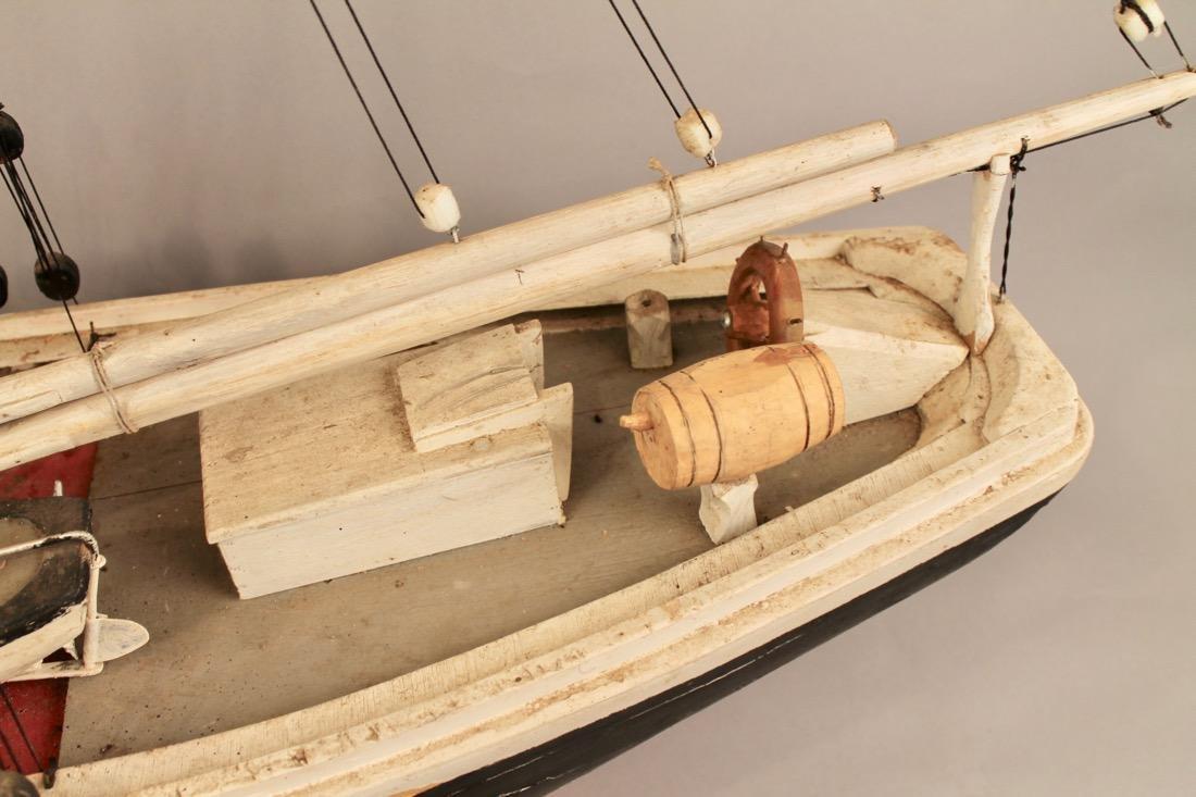 Wooden Boat Model 2 Masted Schooner - 4