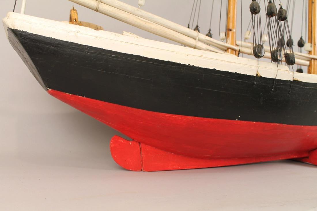Wooden Boat Model 2 Masted Schooner - 8