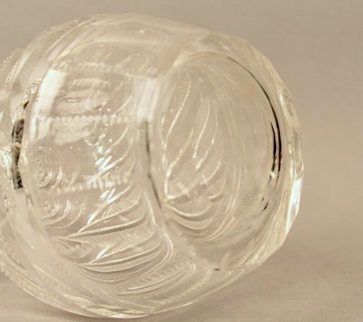 Pr Cut Crystal Decanters marked Checkoslovakia - 4
