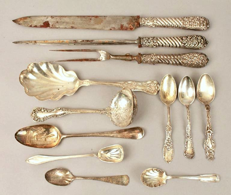 Lot of Ornate Sterling Silver