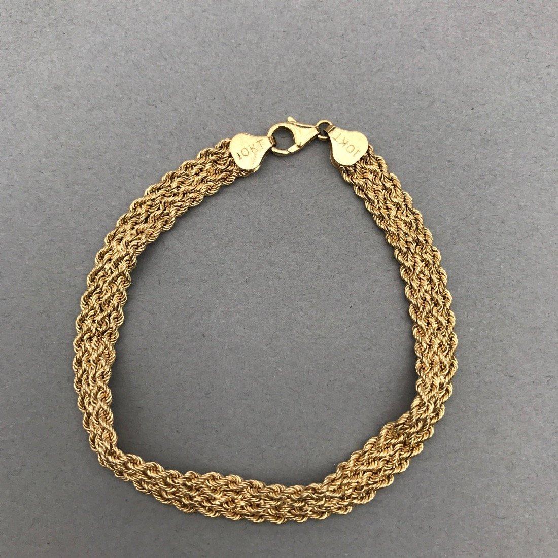 3 10K Gold Bracelets - 2