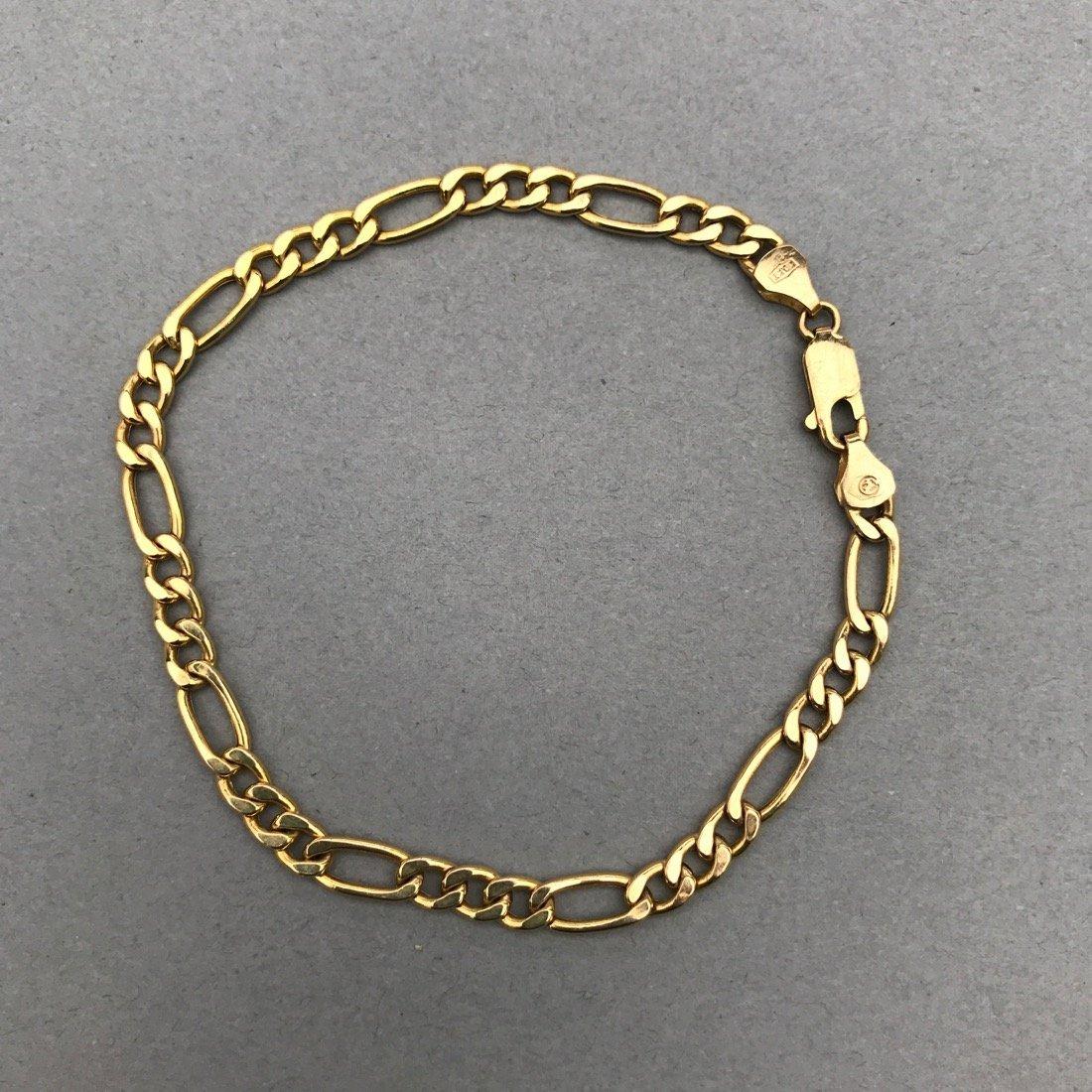 3 10K Gold Bracelets - 5
