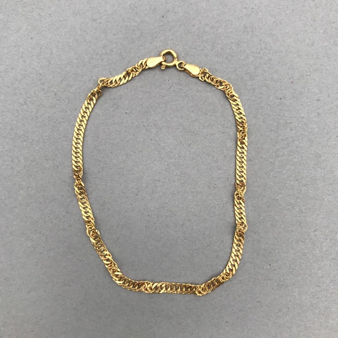 2 14K Gold Bracelets - 2