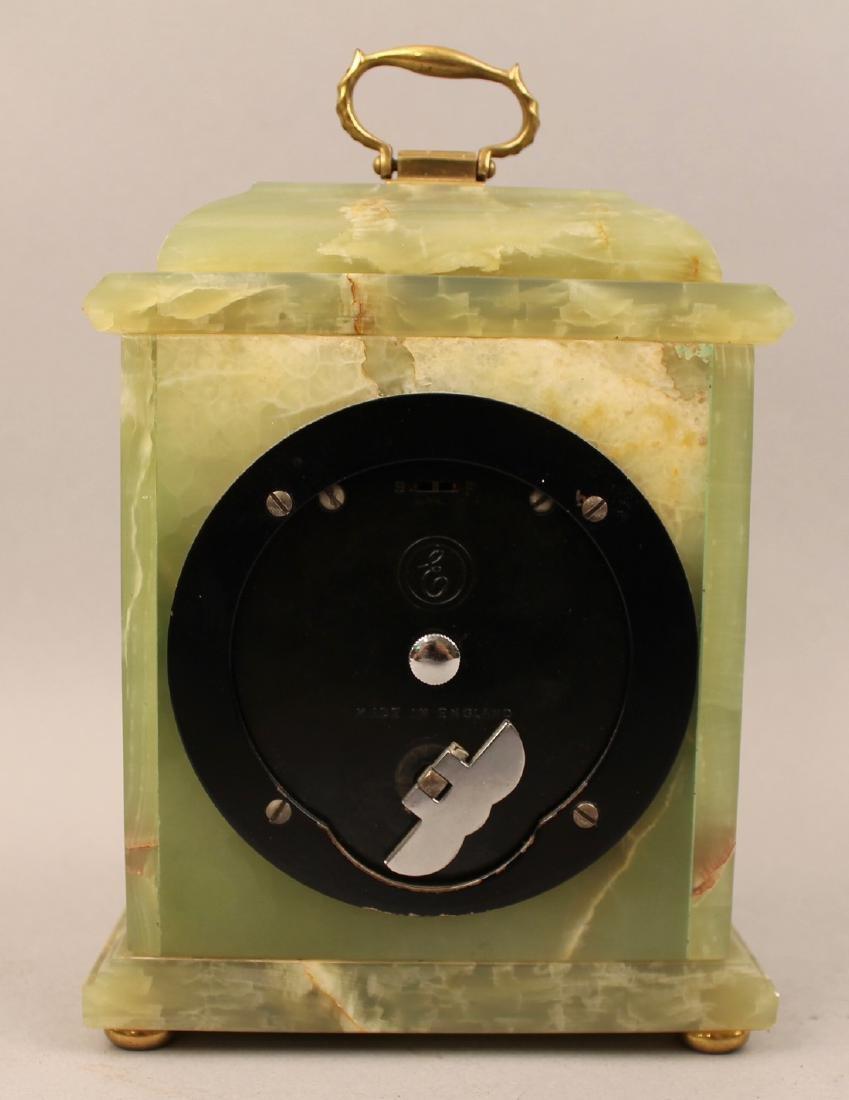 Dunhill Brass and Green Onyx Shelf Clock - 3