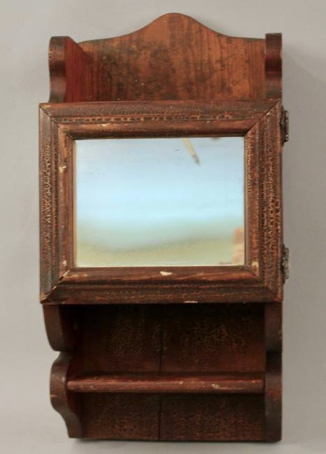 Folk Art Medicine Cabinet