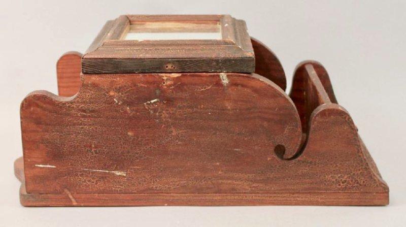 Folk Art Medicine Cabinet - 2