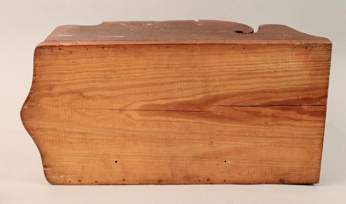 Folk Art Medicine Cabinet - 3