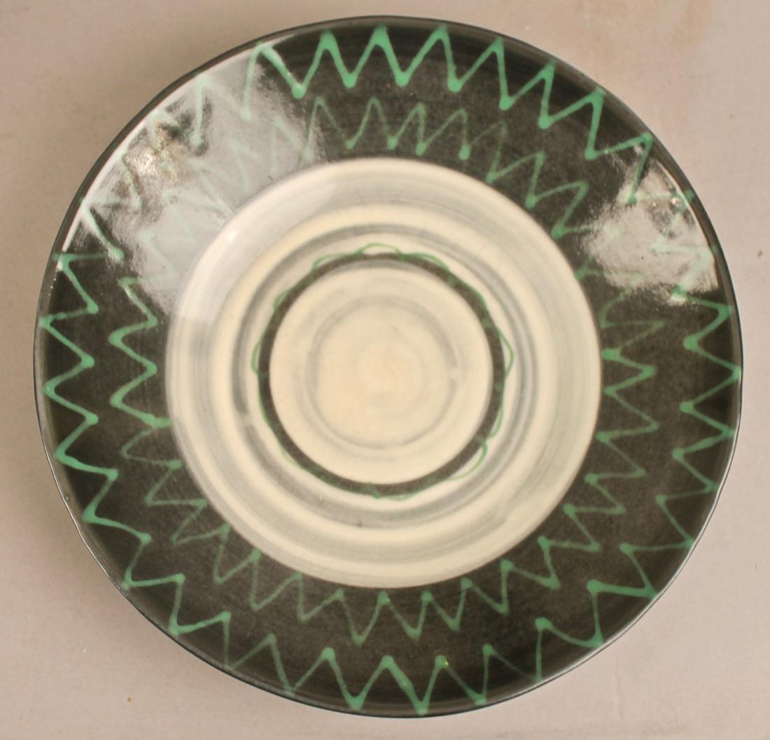 8 Mid Century Ceramic Plates - 4