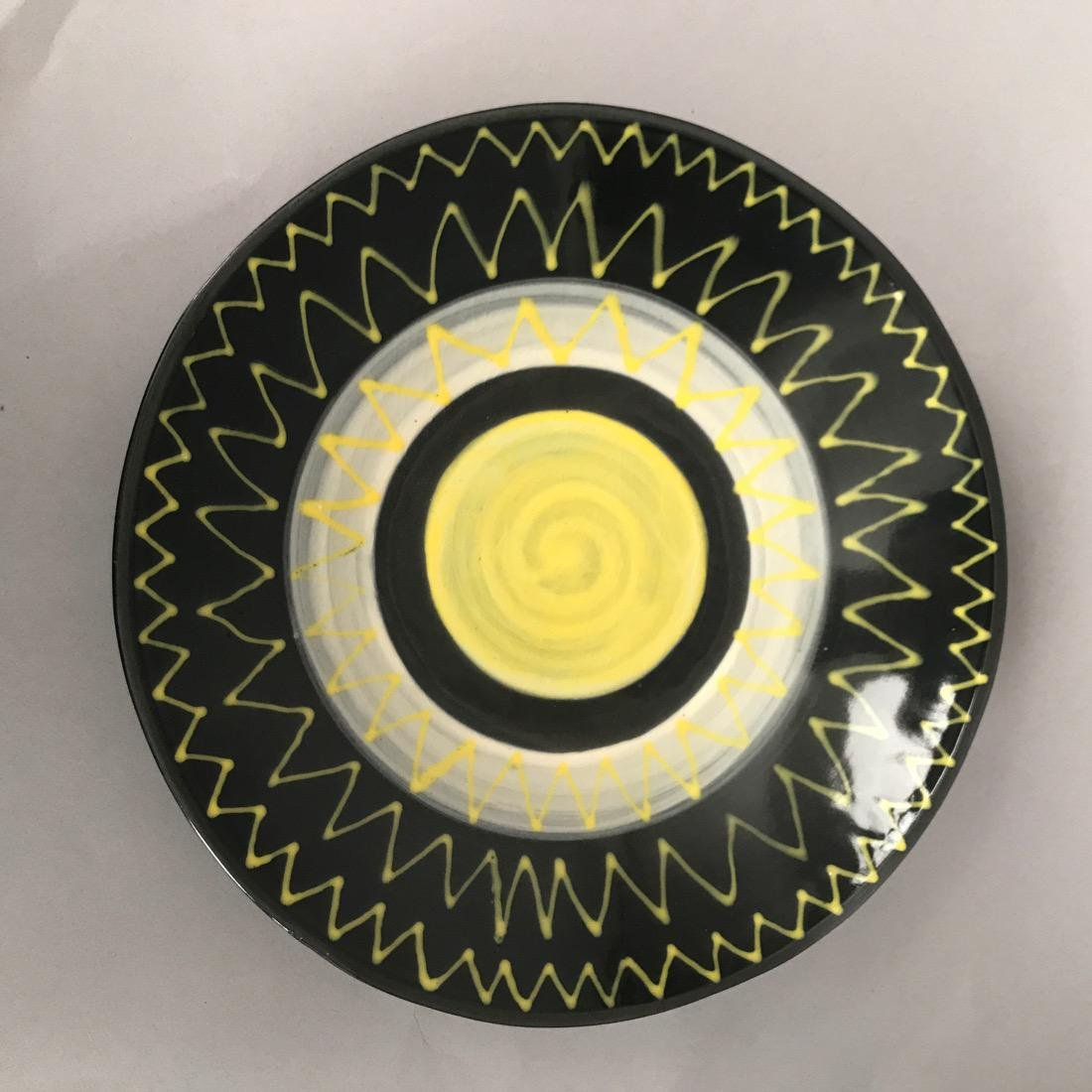 8 Mid Century Ceramic Plates - 5