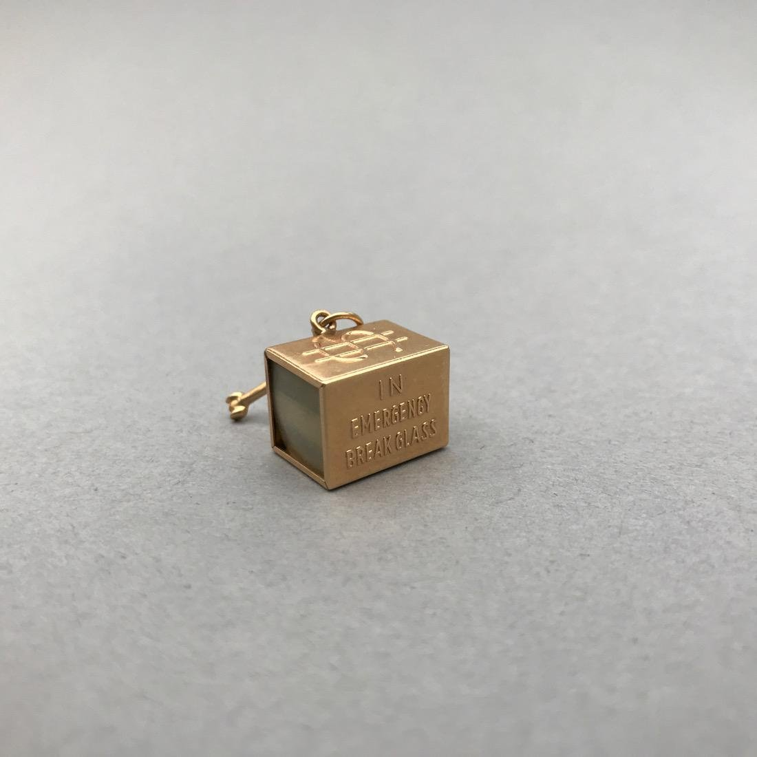 3 14K Gold Charms - 4