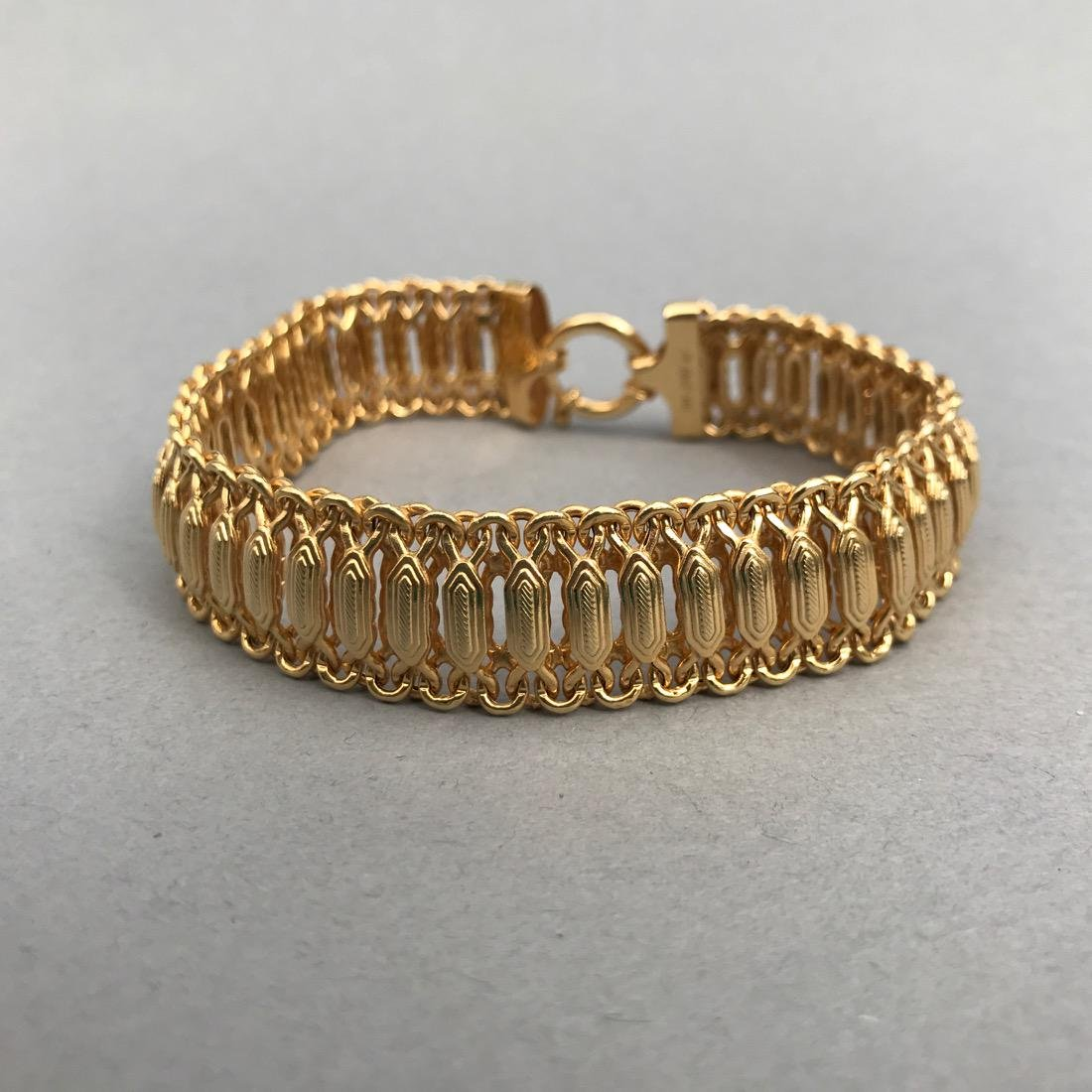 14K Gold Bracelet Beautiful Detail