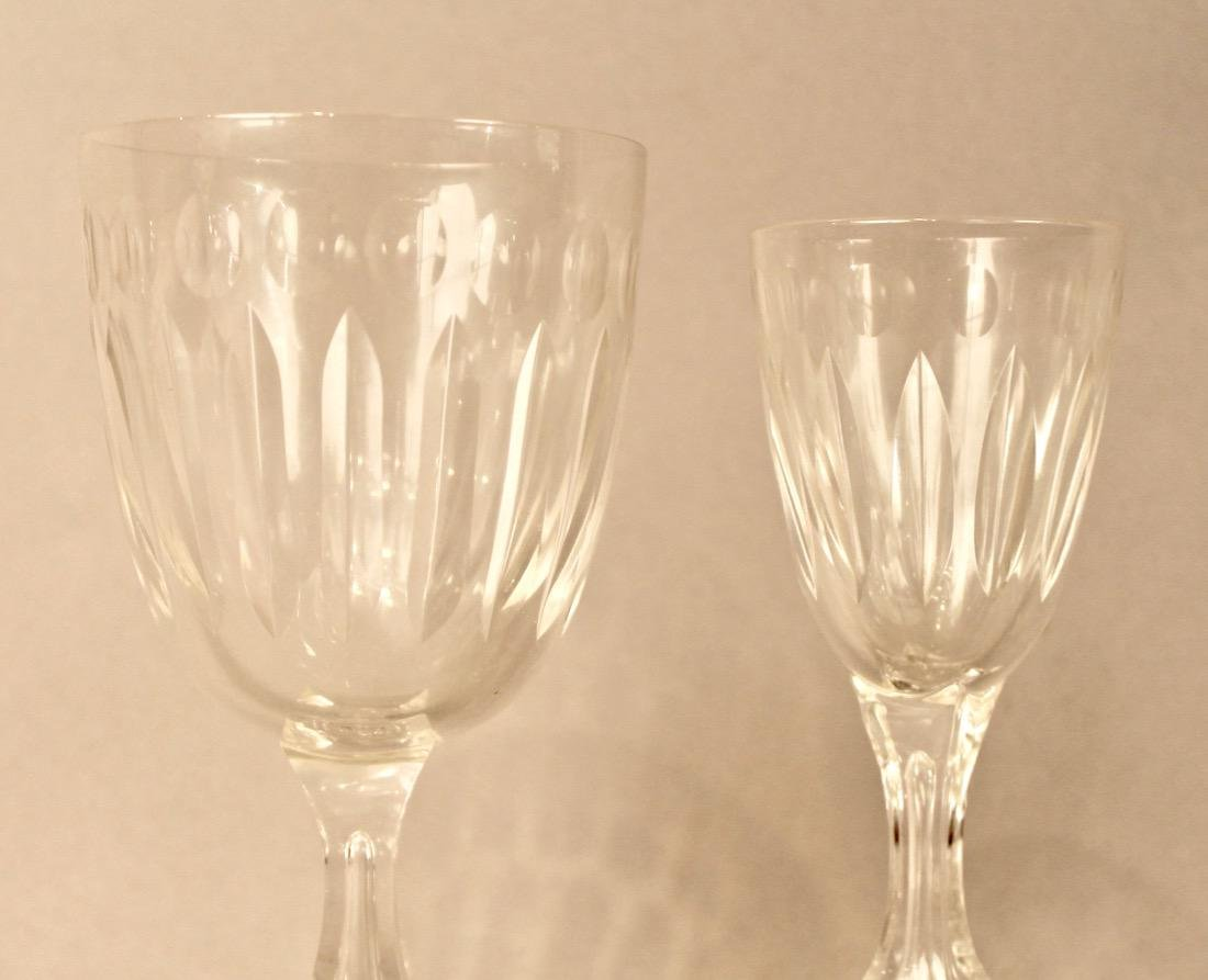 56 Pieces of Cut Crystal Stemware & Dishes - 3