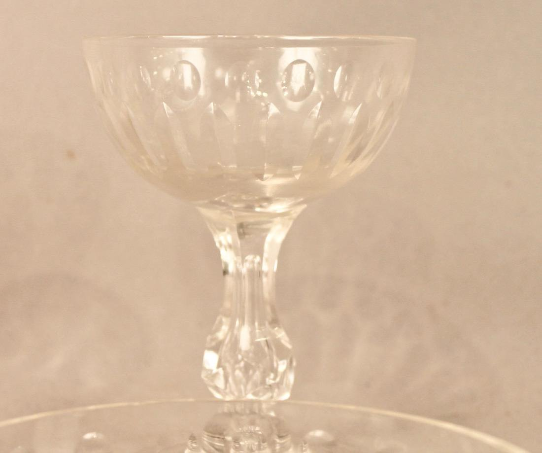 56 Pieces of Cut Crystal Stemware & Dishes - 4