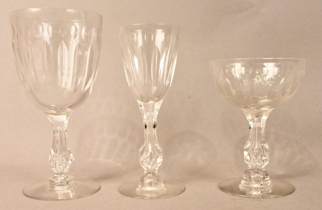 56 Pieces of Cut Crystal Stemware & Dishes - 5