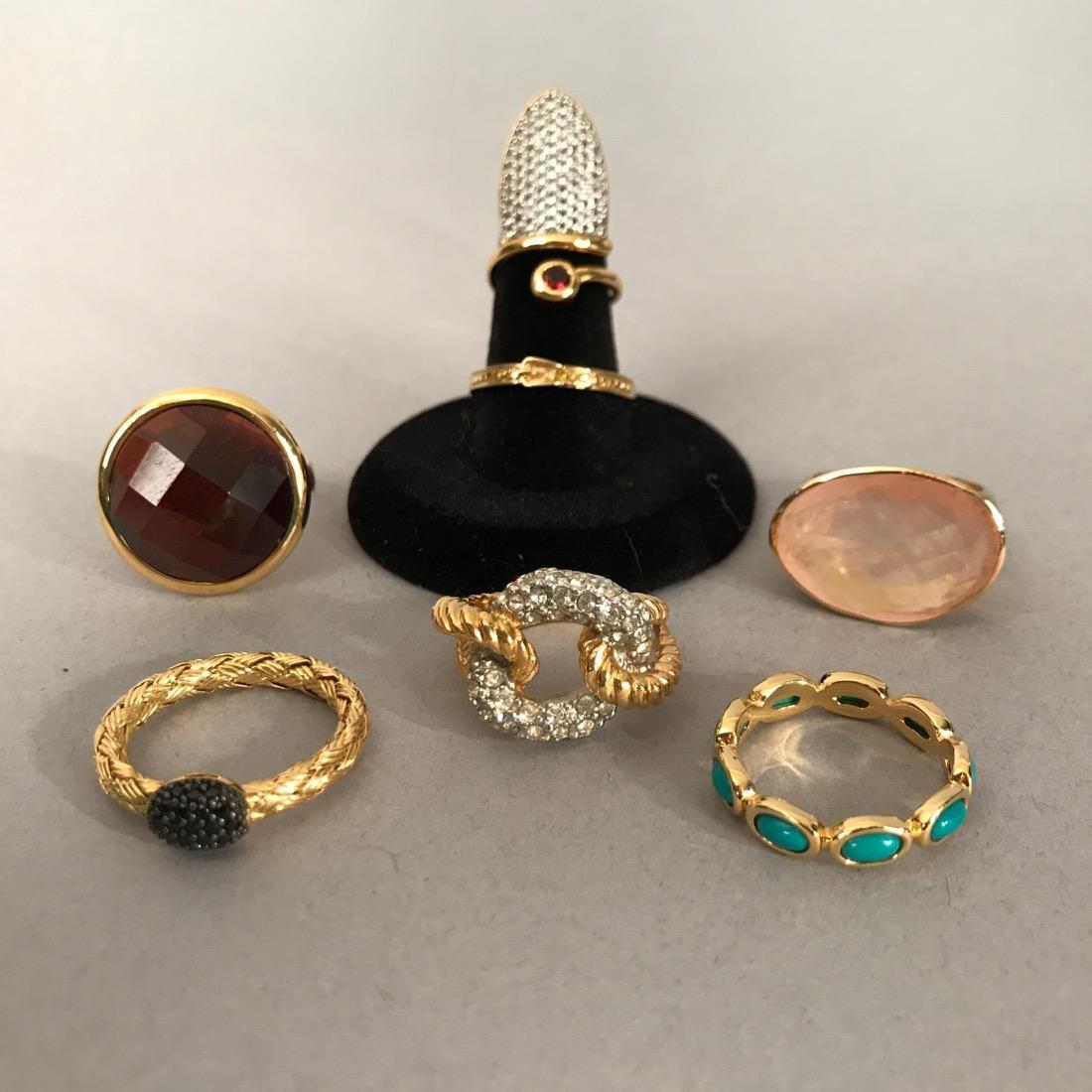 7 Sterling Silver Rings