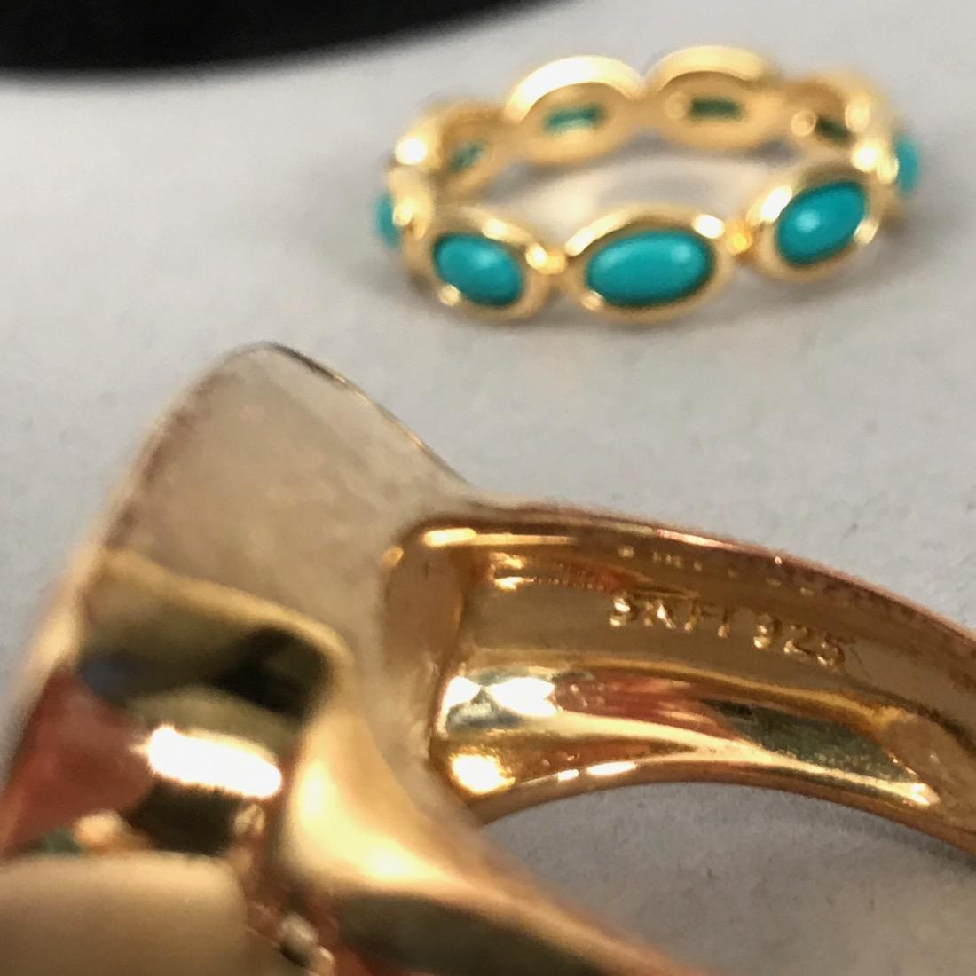 7 Sterling Silver Rings - 3