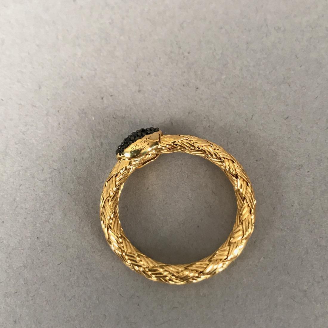 7 Sterling Silver Rings - 4